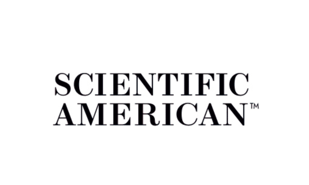 Logo for Scientific American magazine