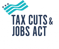 Logo for the Tax Cuts & Jobs Act of 2017