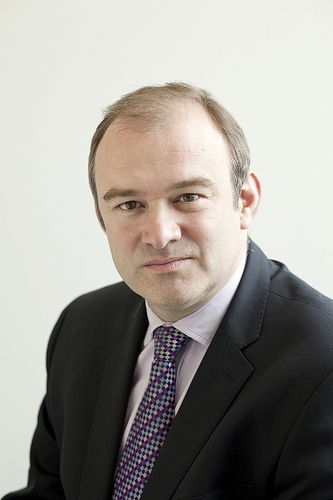 Ed Davey, UK Sec. of State for Energy and Climate Change, 2013